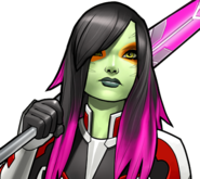 Gamora Galactic Assassin Icon