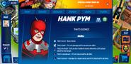 Hank Pym profile