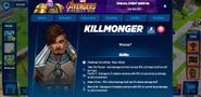 Killmonger's Profile