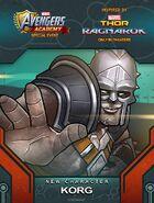 New Recruit Thor Ragnarok Event Korg