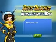 Outfit Unlocked! Retro-Futuristic Wasp