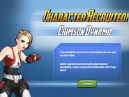 Character Recruited! Crimson Dynamo
