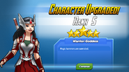 Character Upgraded! Sif Rank 5