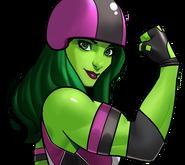 Roller Derby She-Hulk