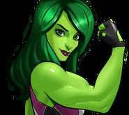 She-Hulk Rank 5 icon