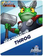 New Recruit Pet Avengers Event Throg
