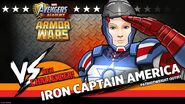 Iron Captain America Armor Wars