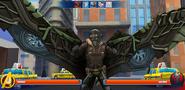 Vulture in battle