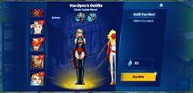 Classic Captain Marvel Van Dynes