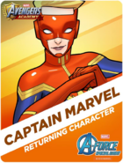 Returning Character! Captain Marvel