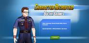 Bucky Barnes Recruited