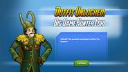 Outfit Unlocked! Big Game Hunter Loki