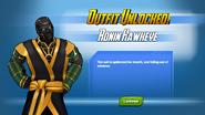 Outfit Unlocked! Ronin Hawkeye