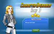 Character Upgraded! Agent 13 Rank 3