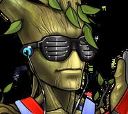 Teen Groot Rank 3 Icon