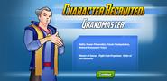Character Recruited! Grandmaster