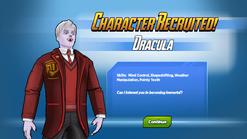 Character Recruited Dracula