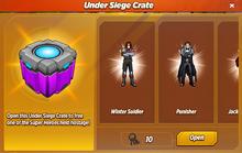 Under Siege Crate