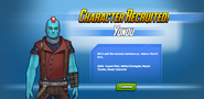 Character Recruited! Yondu
