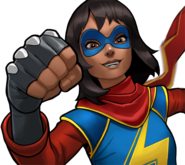Kamala Khan (Earth-TRN562) from Marvel Avengers Academy 002