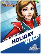 New Outfit Pet Avengers Event Holiday Wasp