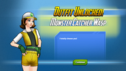 Monster Catcher Wasp Outfit Unlocked