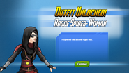 Outfit Unlocked! Rogue Spider Woman