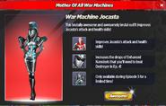 War Machine Jocasta Ad