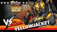Yellowjacket Armor Wars Challenger