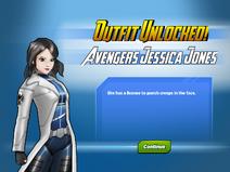Outfit Unlocked! Avengers Jessica Jones