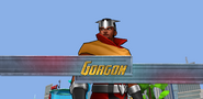 Gorgon arrives as a boss