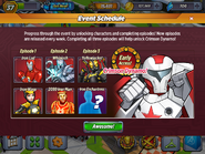 Armor Wars Event Schedule