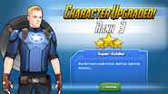 Character Upgraded! Captain America Rank 3