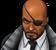 Nick Fury Portrait