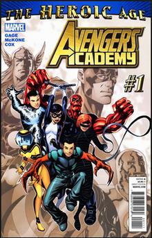 Marvel Avengers Academy the heroic age