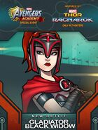 New Outfit Thor Ragnarok event Gladiator Black Widow