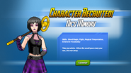 Nico character screen