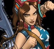 Diver America Chavez icon