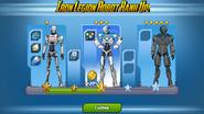 Iron Legion Robot Ranks