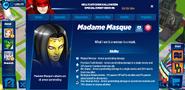 Madame Masque's profile