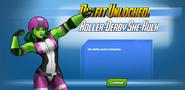 Outfit Unlocked! Roller Derby She-Hulk