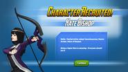 Kate Bishop Recruited