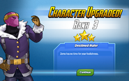 Character Upgraded! Baron Zemo Rank 3
