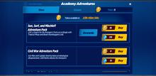 Academy Adventures