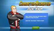 Character Recruited! Agent Venom