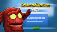 Character Unlocked! Orrgo
