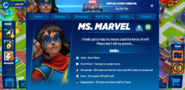 Ms. Marvel's profile