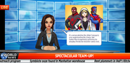 Spider-Man Homecoming Newscast 2