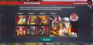 Thor Ragnarok Event Schedule