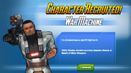 Character Recruited War Machine